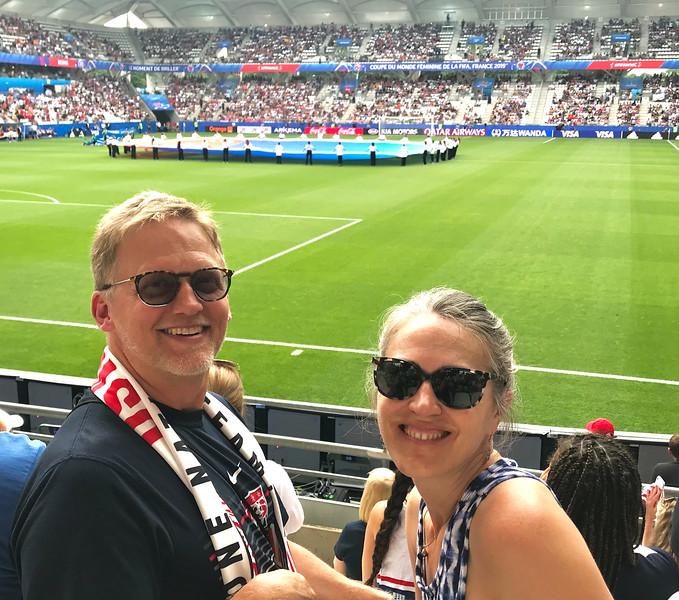 US vs Spain - Round of 16