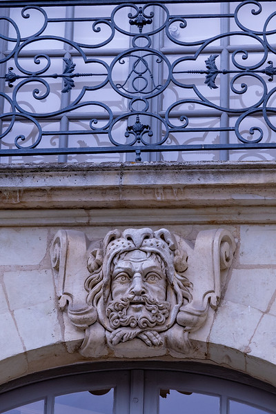 Detail on a Stone Building