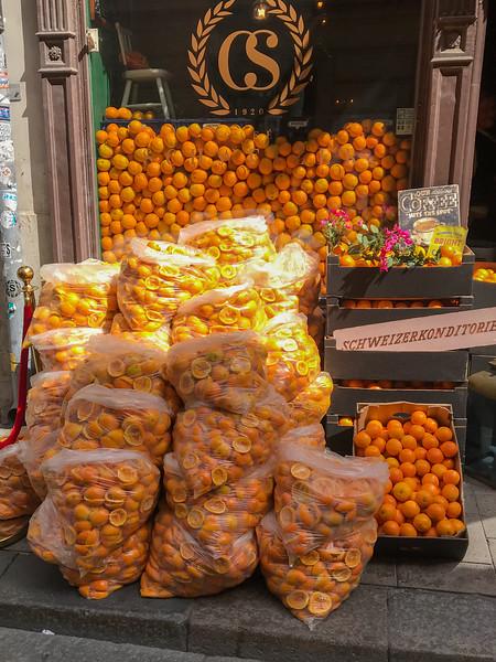 Fresh Orange Juice... Remains