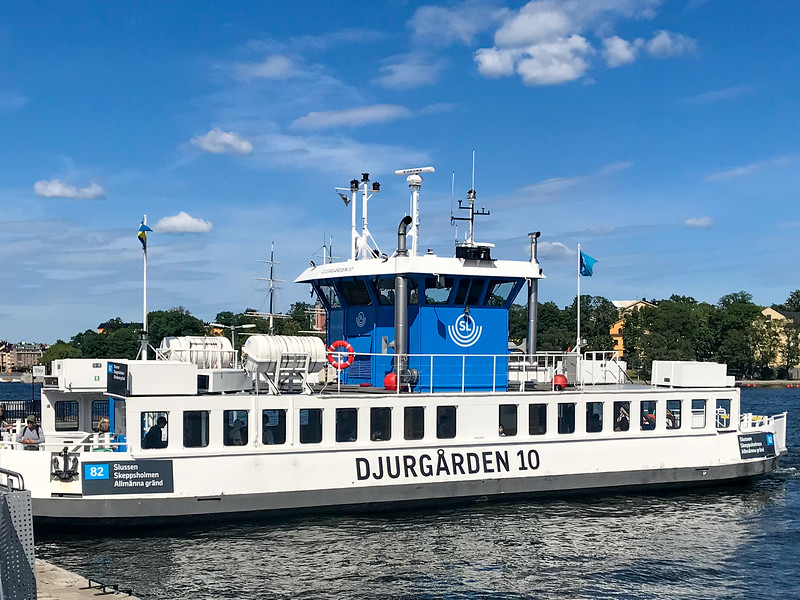 Ferry - Part of the Public Transportation Network