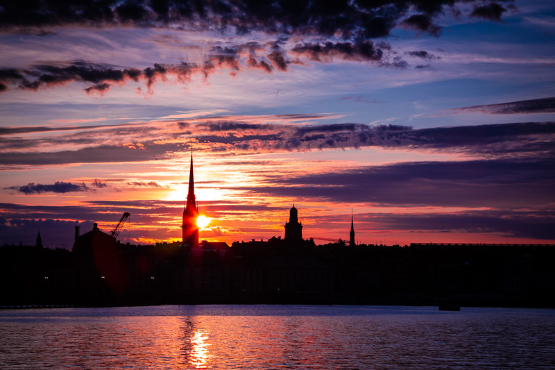 Sunset Over Gamla Stan #4