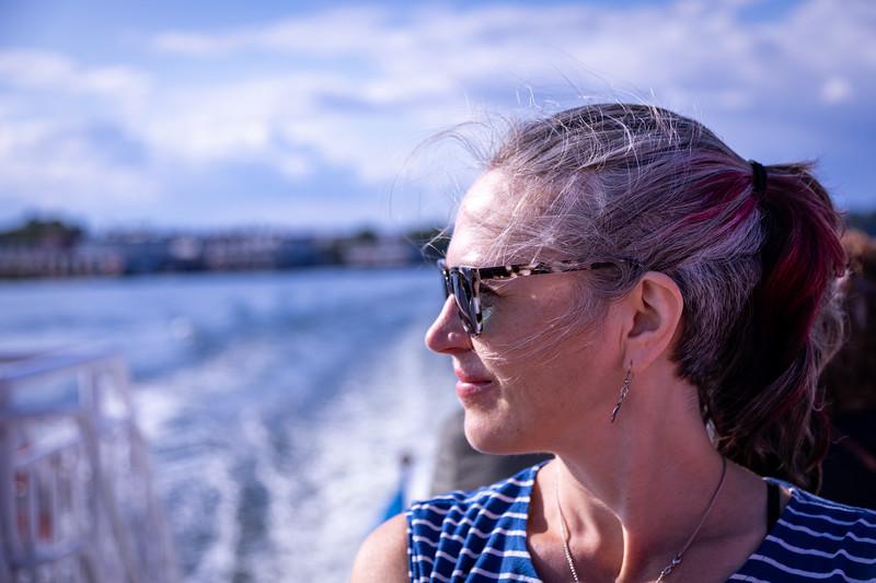 Enjoying a Ferry Ride