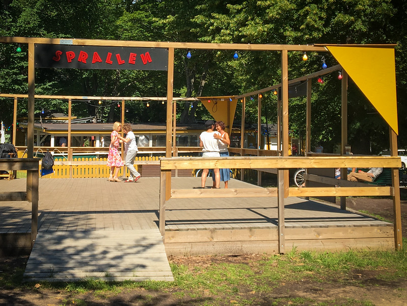 Outdoor Dancing at Tantolunden Park