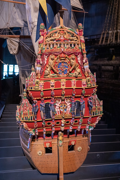 Vasa Model - Stern Superstructure
