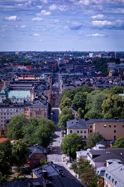 Stockholm from the City Hall Tower