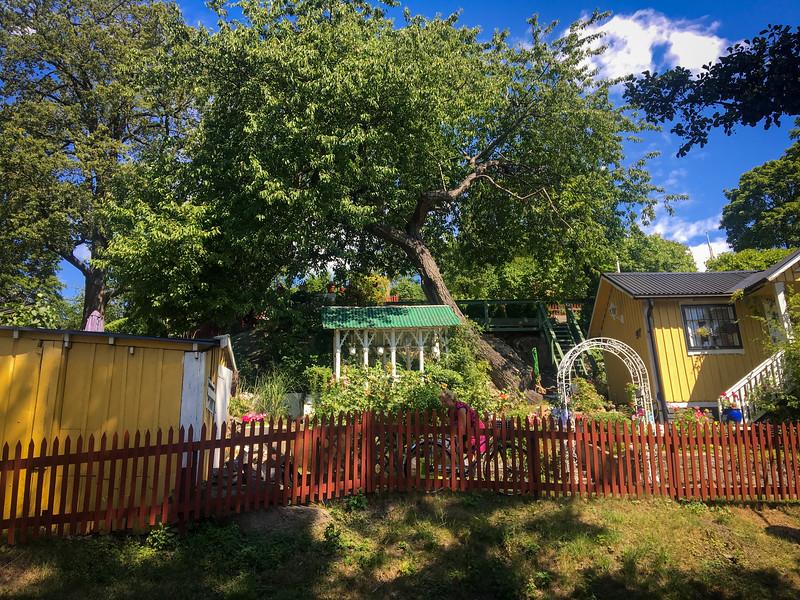 Tiny Houses near Tantolunden Park