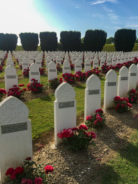 French Military Cemetery - Algerian Section