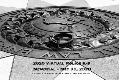 2020 Police Week Virtual Police K-9 Memorial,  Washington, DC