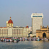 Gateway to India, the Taj Hotel, and the colourful boats