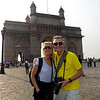 we are enjoying the Gateway to India