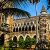 staircase of the University of Mumbai's main British Time building