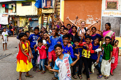 the slum kids are soooo fabulous and happy