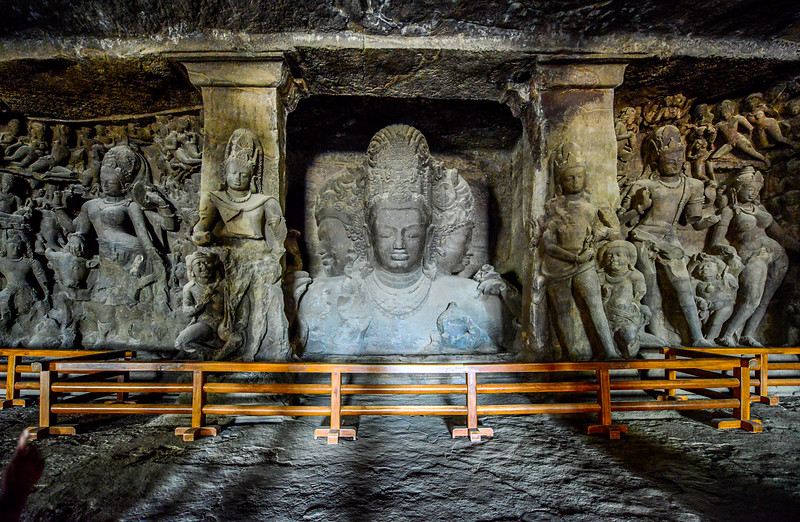 Elephanta carvings are amazing