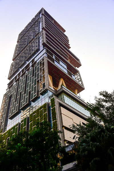 the $1B USD 27 floor house, spectacular