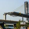 Goa - fabulous new bridge being built to handle the tourists