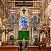 Cochin - a very busily decorated Santa Cruz Basilica