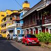 The clean streets of Goa's capital - Panjim
