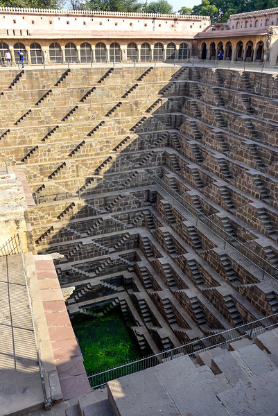 "the Chand Baori Stair Well, used in the ""The Dark Knight Rises"" movie"