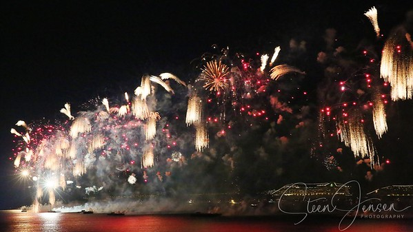Travel; Brazil; Brasilien; Rio de Jr.; Copacabana; New Year  Fireworks;