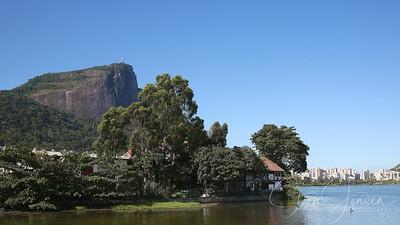 Travel; Brazil; Brasilien; Rio de Jr.; Lagoa Rodrigo de Freitas;