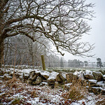 Snow at West Linton