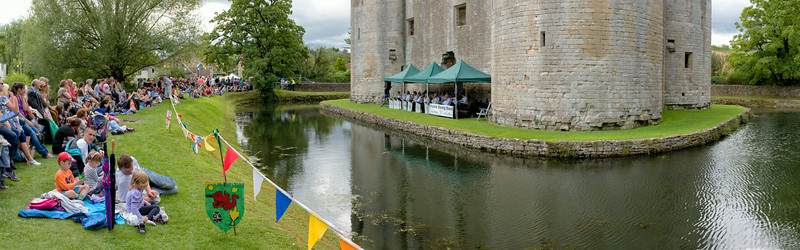 Frome Swing Band at the Castle