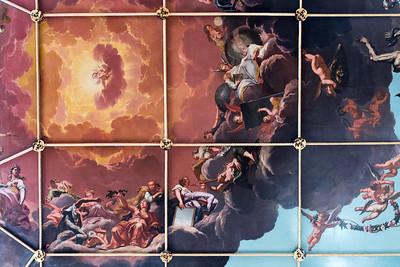 Sheldonian Ceiling Fresco