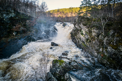 Rogie Falls, near Contin, Inverness