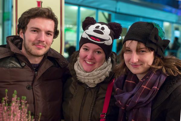 Dan, Marie-Luise & Vicky