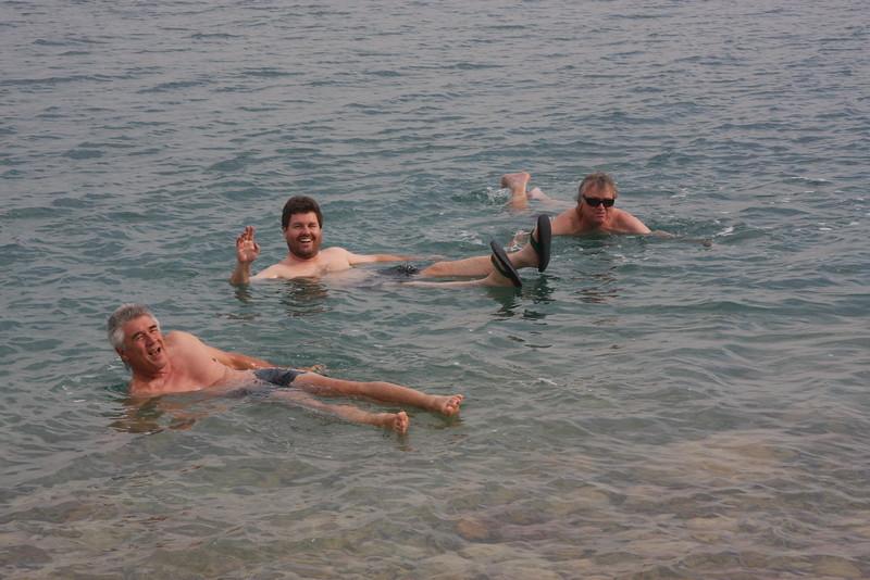 Dead Sea nr En Gedi Nov 19 2007