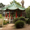 A really neat Chinese Pagoda.<br /> <br /> Scenes from Golden Gate Park in San Francisco.  As the weather shows, Mark Twain was right: the coldest winters are summers in San Francisco!