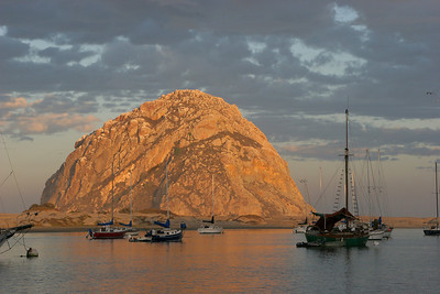 Hard to resist more photos when the rock picks up its own first morning light.