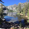 """<span style=""""color:yellow;"""">An iPhone panorama of Eagle Lake.</span>"""