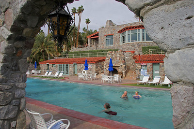 The Furnace Creek Inn closes during the hottest 5 months.