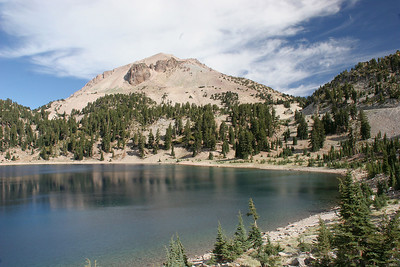 Lake Helen and the back side of Mt. Lassen.