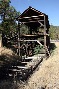 Sutter's Mill (reconstructed), Gold Discovery State Park.