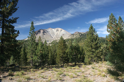 Part of what remains of the area devastated by Mt. Lassen eruptions during the period of 1914-1917, the most powerful occurring in 1915.
