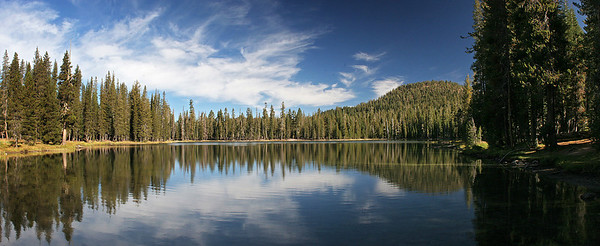 Summit Lake; 4-image pano.