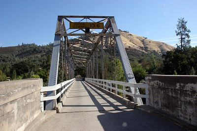 Bridge over the American River.