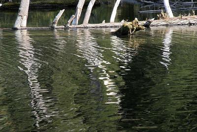 Lassen :  Manzanita Lake.