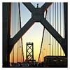 San Francisco-Oakland Bay bridge.