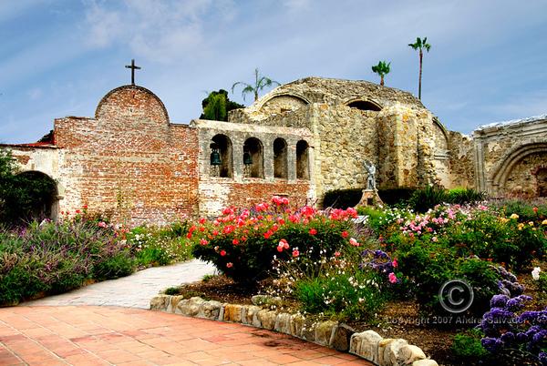 MISSION SAN JUAN CAPISTRANO, SANTA ANA, CALIFORNIA