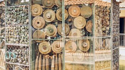 Landmines in Cambodia.
