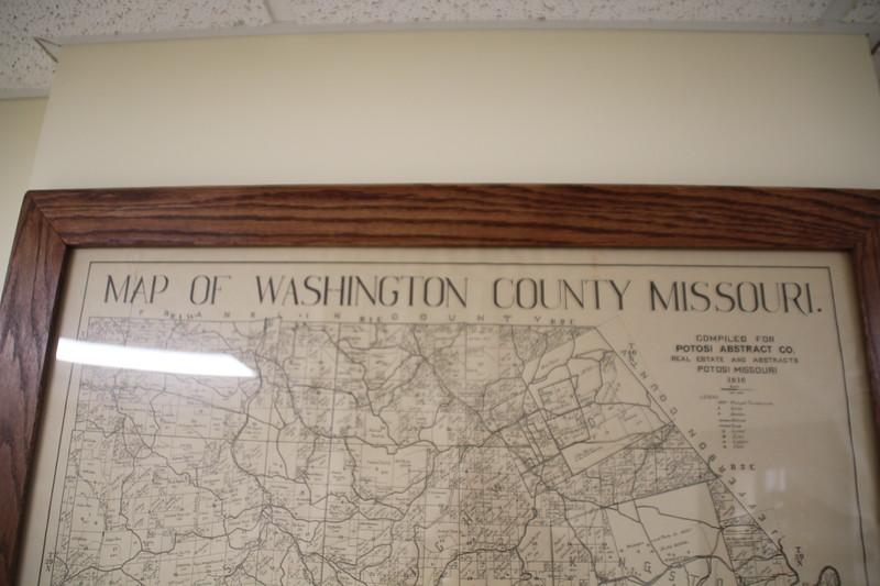 Location of Richwoods MO where Laphele Rusan aka Charles Mounday lived