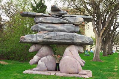 Manitoba Legislature grounds