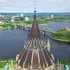 Roof of the Library of Parliament from the Peace Tower