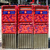 Mailboxes downtown.