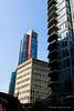 Downtown condominium towers.