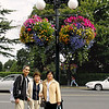 The couple in black shirts were our host and our guide when we visited Victoria. Posing beside my wife and Victoria's lamp post.
