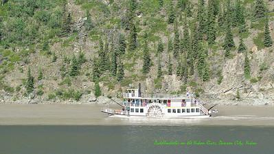 Paddlewheeler on the Yukon River
